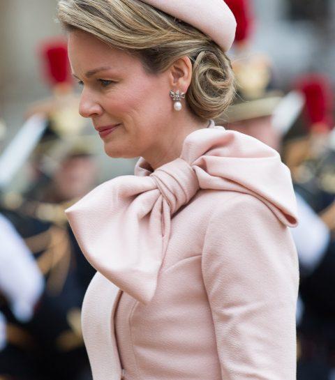 Photo du jour: Mathilde, une Reine en Dior