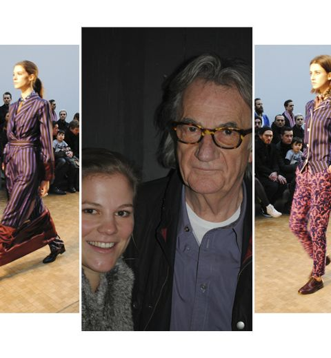 Fashion Week de Londres: rencontre avec Paul Smith
