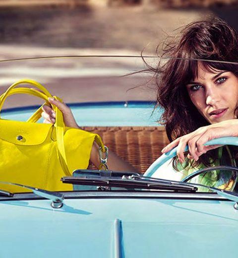 Alexa Chung: nouvelle égérie Longchamp
