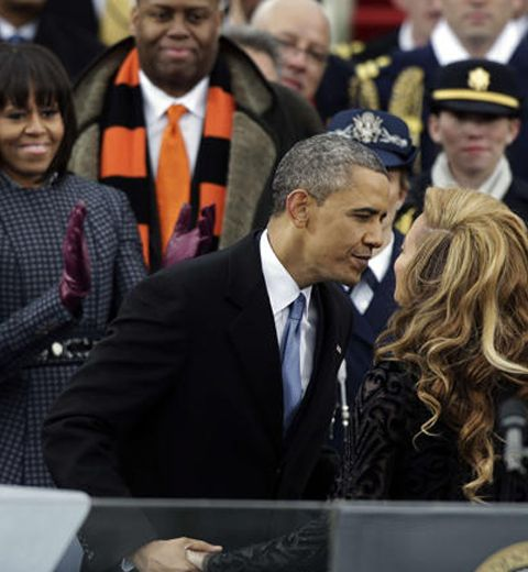 Une histoire d'amour entre Beyoncé et Obama?
