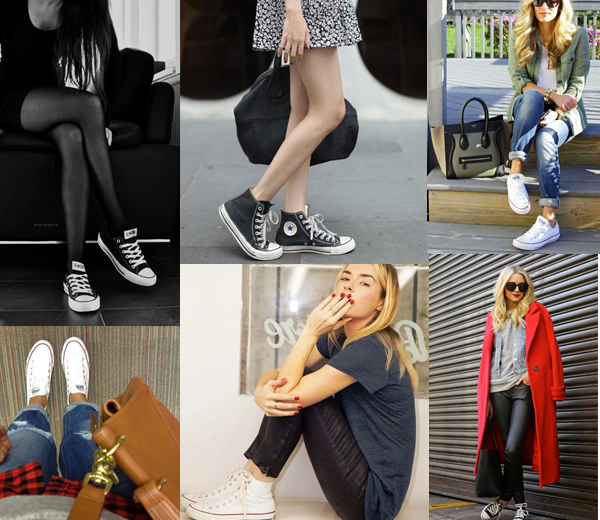 converse femme style