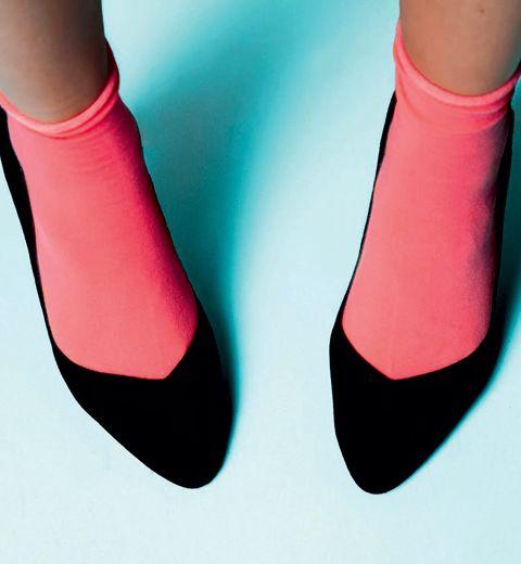 Portera-t-on le duo escarpins/ chaussettes cet été ?