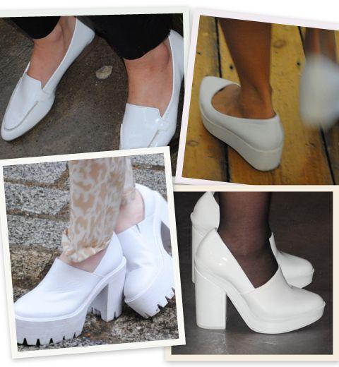 Fashion Week de Londres: les chaussures blanches