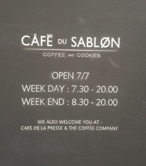 EXCLU ELLE.be: les premières photos du Café du Sablon