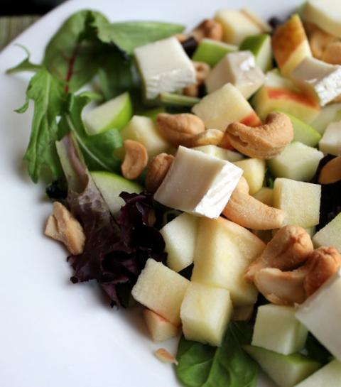 Recette de la salade de pommes
