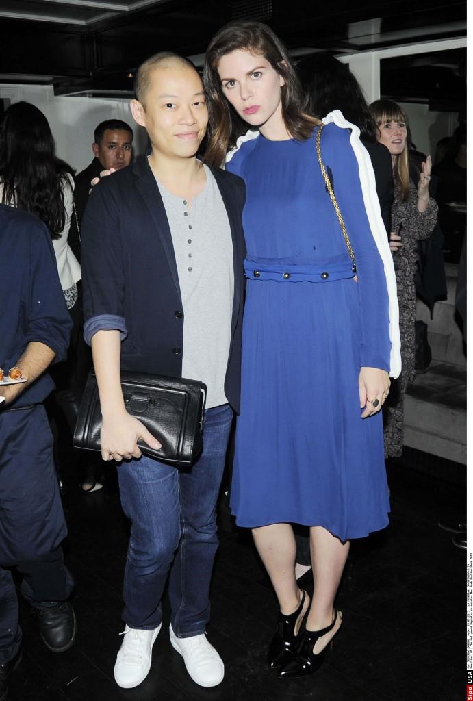 Leslie Fremar (à droite) et Jason Wu