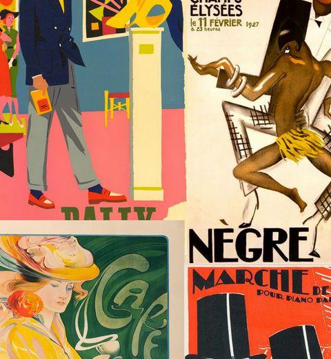 Les affiches Marci vintage et made in Belgium