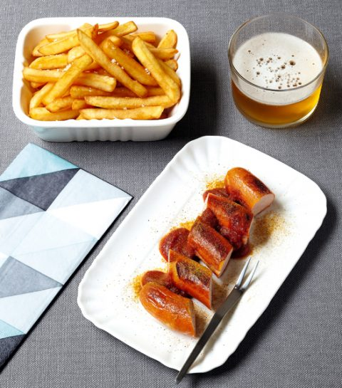 La curry wurst