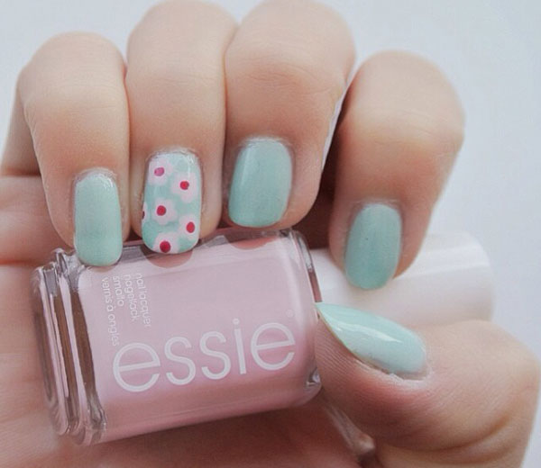 Le nail art fleuri - Nail art printemps ...