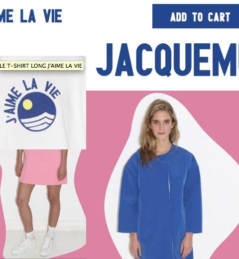 L'e-shop Jacquemus