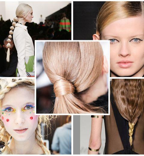 8 coiffures repérées pendant les Fashion Weeks