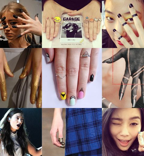 Le nail art qui déborde