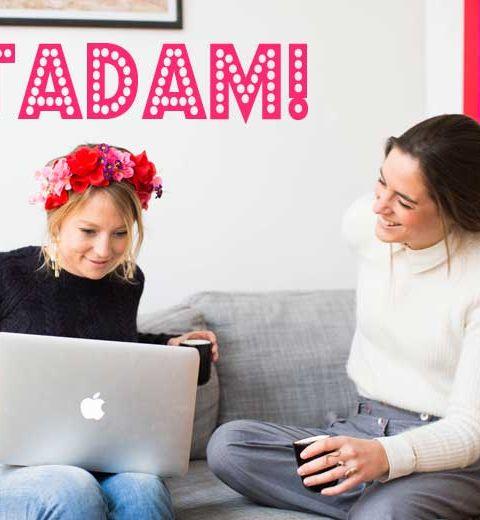 Les filles du vendredi: Clélia et Zazie de TADAM!