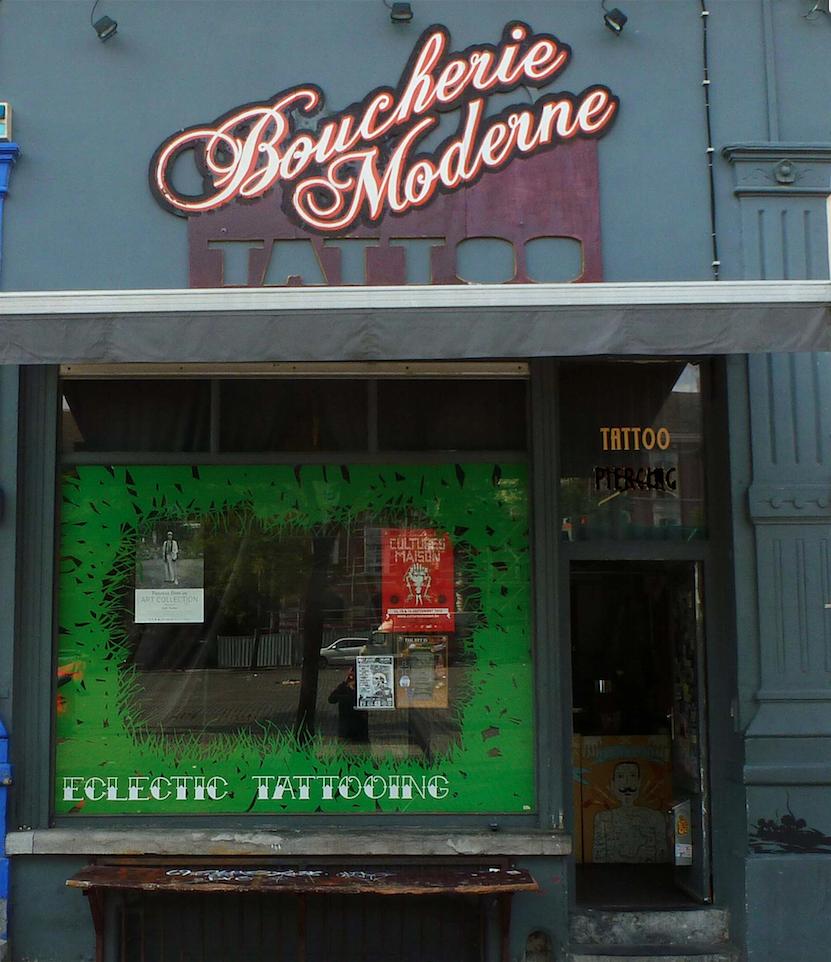 tatoueurs de Belgique : la boucherie moderne