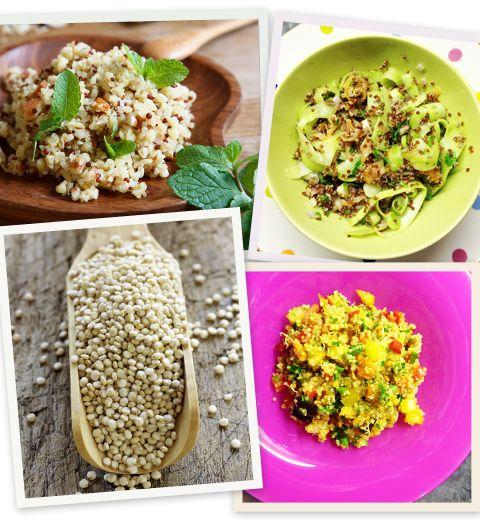 Quinoa : une base, 3 recettes