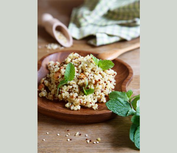 Quinoa-menthe