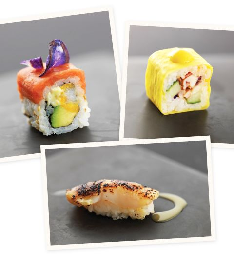 La box Joël Robuchon pour Sushi Shop