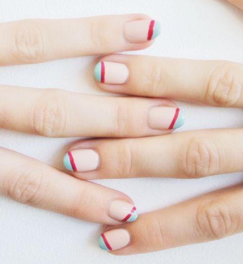 Le nail art asymétrique