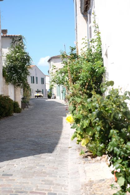 Photo des rues du village La Flotte à l'Ile de Ré