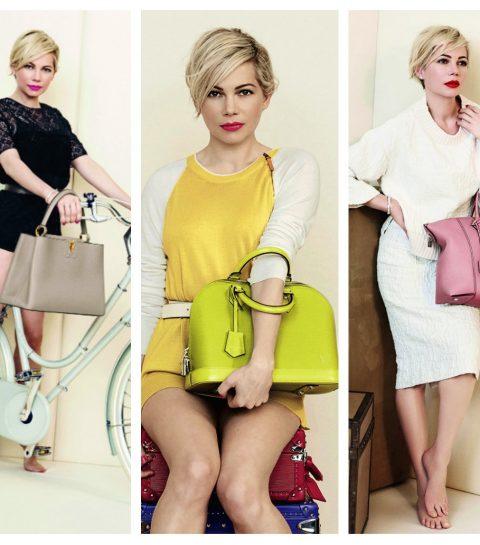 Michelle Williams sublime pour Louis Vuitton
