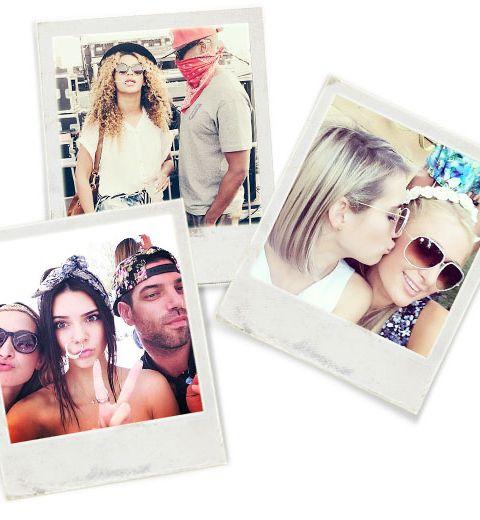 Les coolpics des stars à Coachella