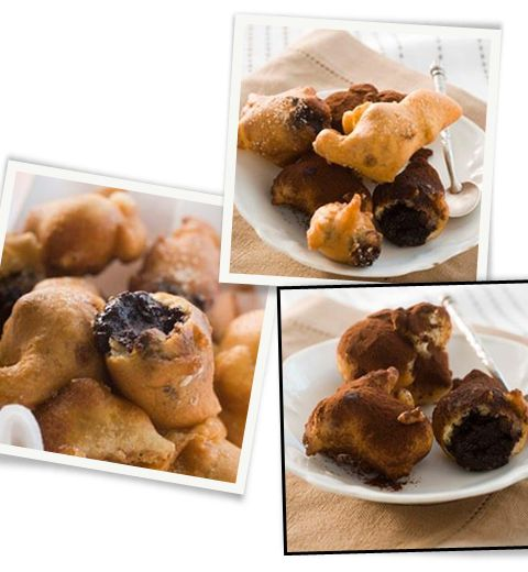 La recette des crapuleux beignets à la pâte à tartiner