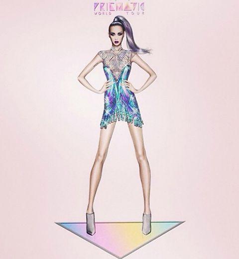 Katy Perry fait appel à Roberto Cavalli pour sa tournée