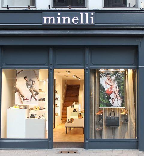 Minelli ouvre 2 boutiques en Belgique