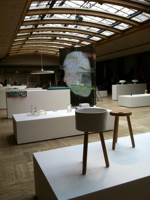 """La partie """"design"""" de l'expo"""
