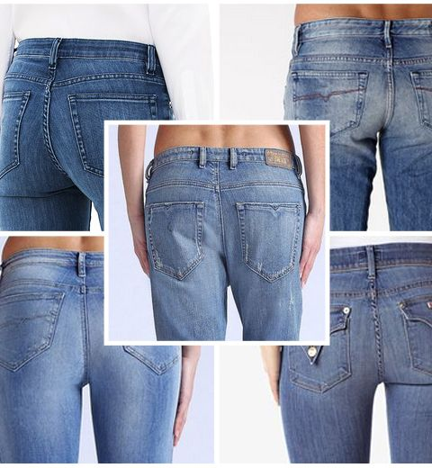 Quel jeans pour quelles fesses?