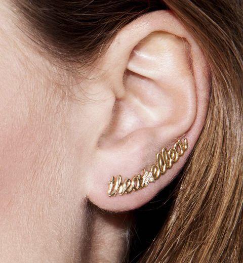 La boucle d'oreille personnalisée Thea