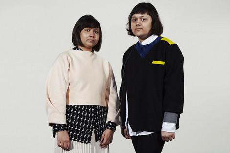 Tina et Nikita Sutradhar