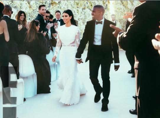 Kim & Kanye: quelques photos officielles du mariage - 3
