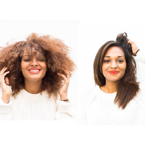 Le brushing parfait pour cheveux frisés
