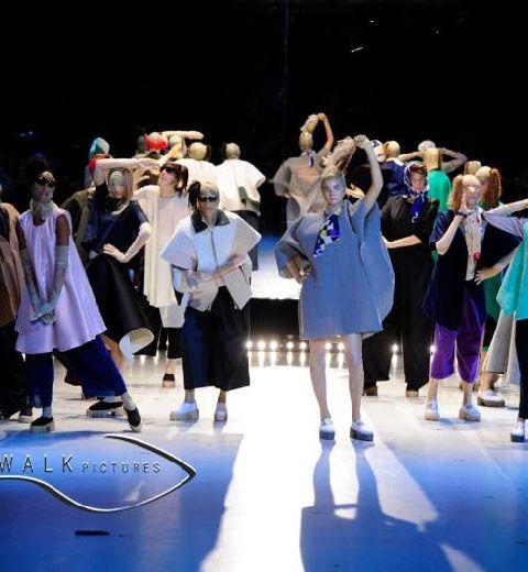 Show de La Cambre Mode[s] : de l'autre côté du miroir