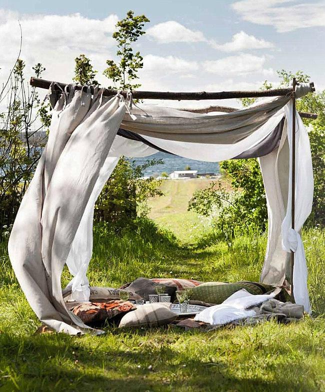 La tente home-made