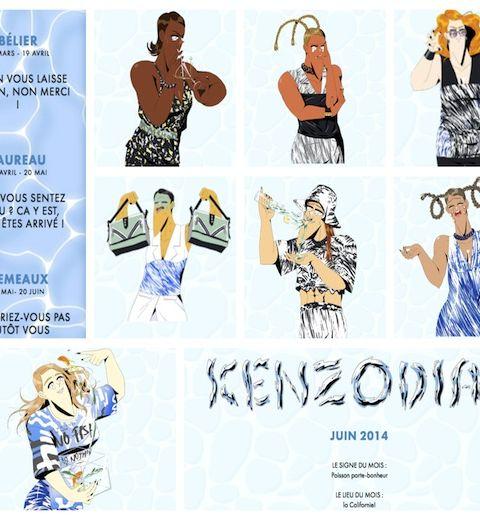 Kenzo se met à l'astrologie