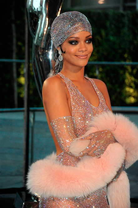 Rihanna-tulband