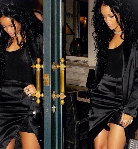 Rihanna en Anthony Vaccarello