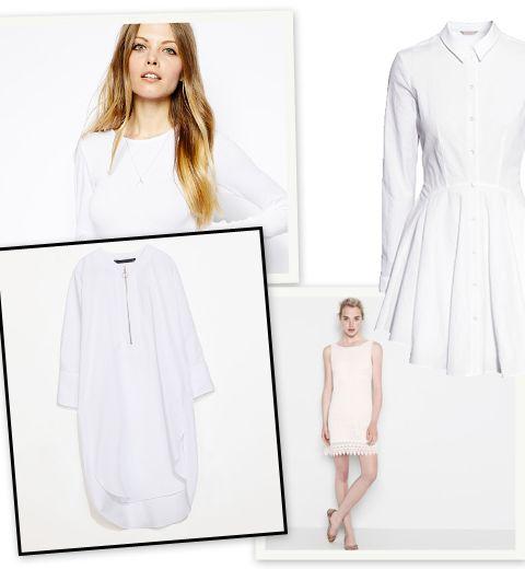 10 petites robes blanches à moins de 50 euros