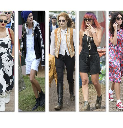 Glastonbury: les plus beaux looks