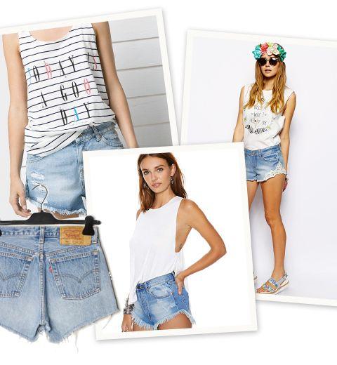 10 cropped shorts à petits prix