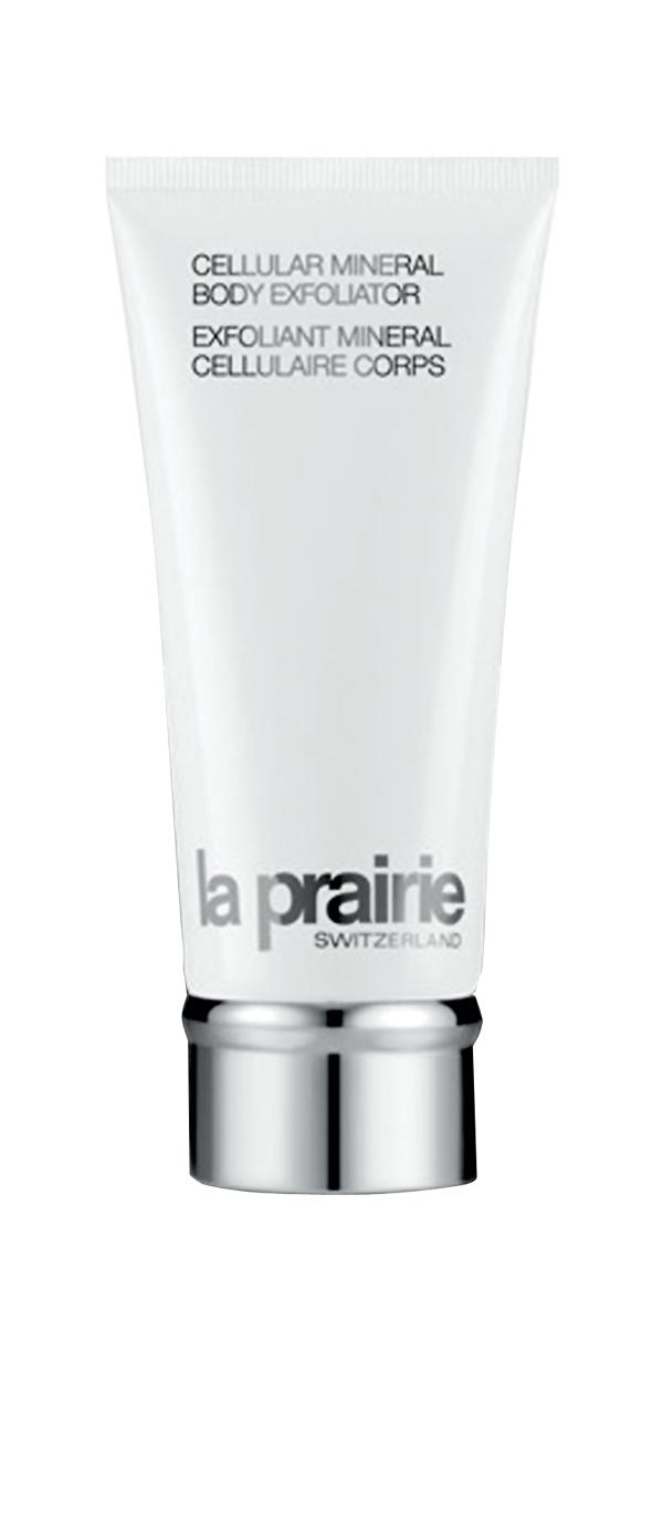 Exfoliant Minéral Cellulaire pour le corps, La Prairie, 114€ en parfumerie.