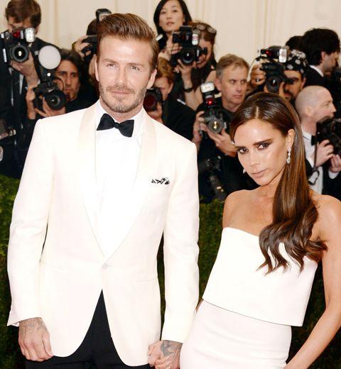 La robe de Victoria pour son premier rendez-vous avec David Beckham