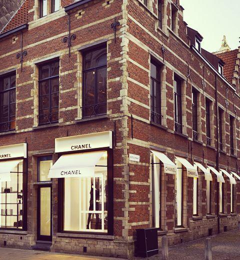 Chanel ouvre une nouvelle boutique à Anvers