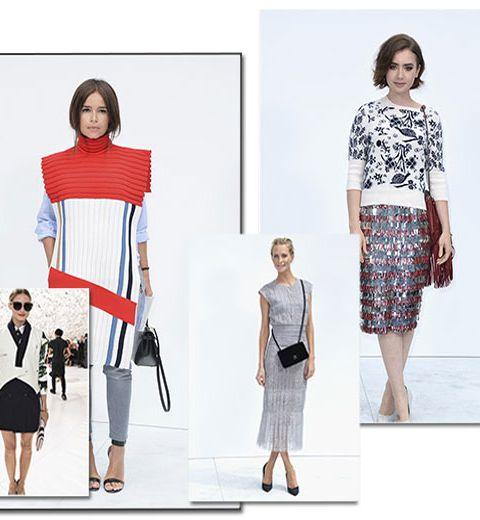 Paris Haute Couture: y'avait qui en front row?