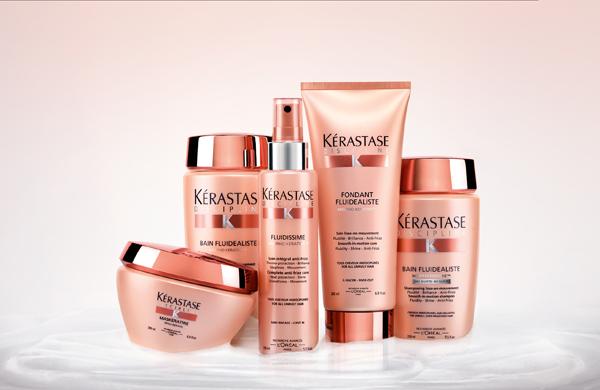 La nouvelle gamme discipline de Kérastase pour gainé les cheveux et maîtrisés les frisottis - 19,90€ le bain, 27€ le soin fondant, 39€ le masque, 25,50€ le spray.