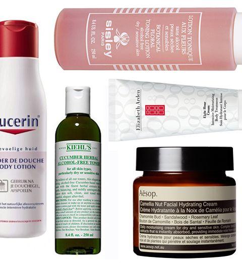 12 produits pour soigner les peaux sèches