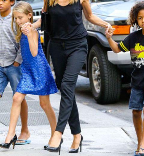 La fille de Heidi Klum porte des talons… à 11 ans !