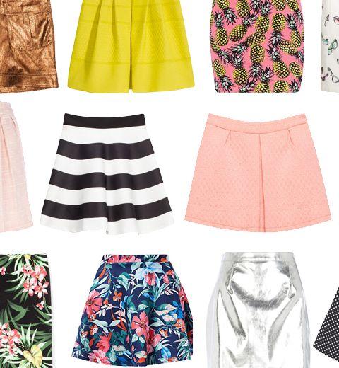 La mini-jupe a 50 ans: nos 50 pièces préférées à petit prix